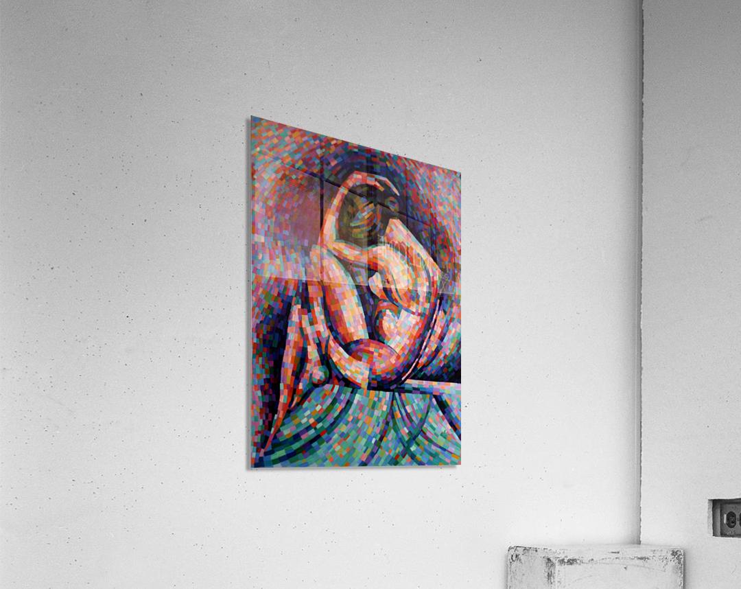 Roundism - 06-07-16  Acrylic Print
