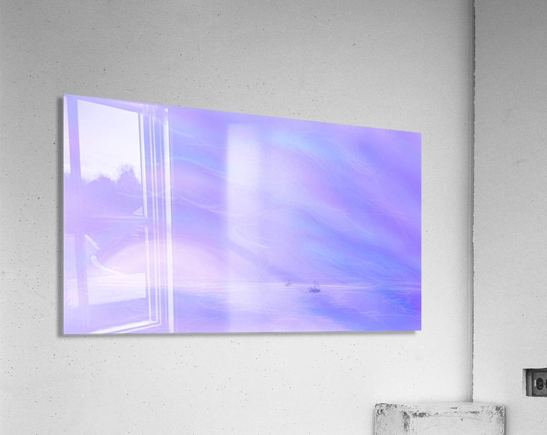 A Maui Twilight Setting  Acrylic Print
