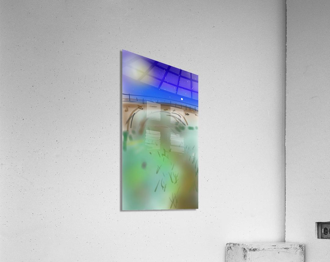 Under a Bridge  Acrylic Print