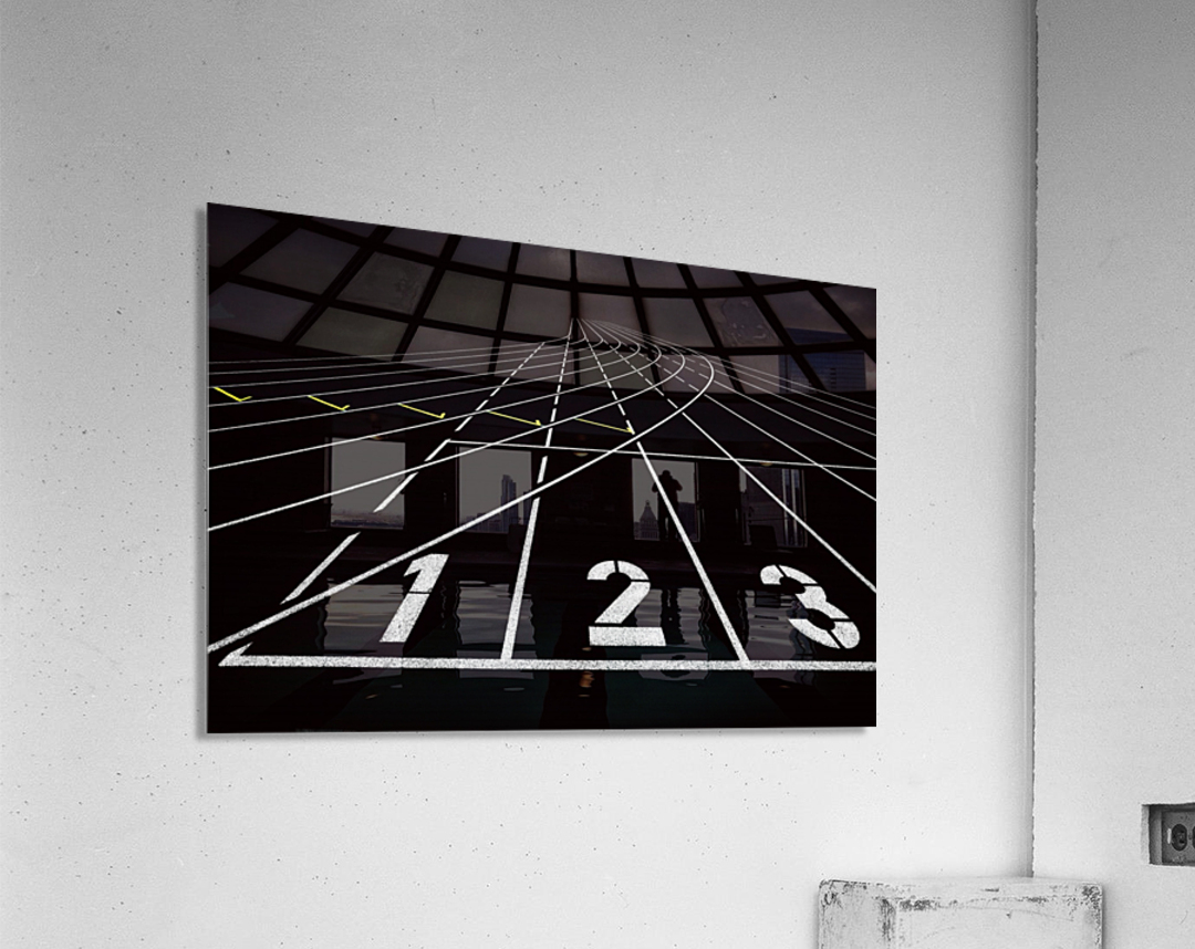 123  Acrylic Print