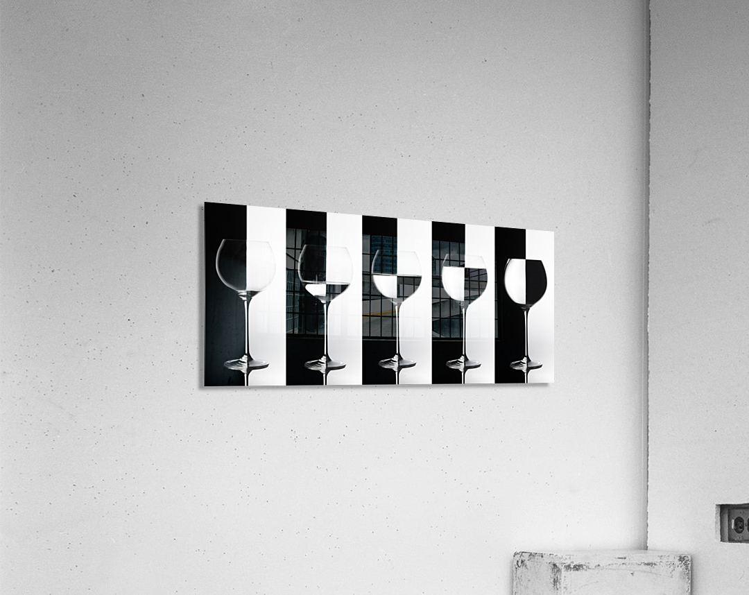 Black & White  Acrylic Print