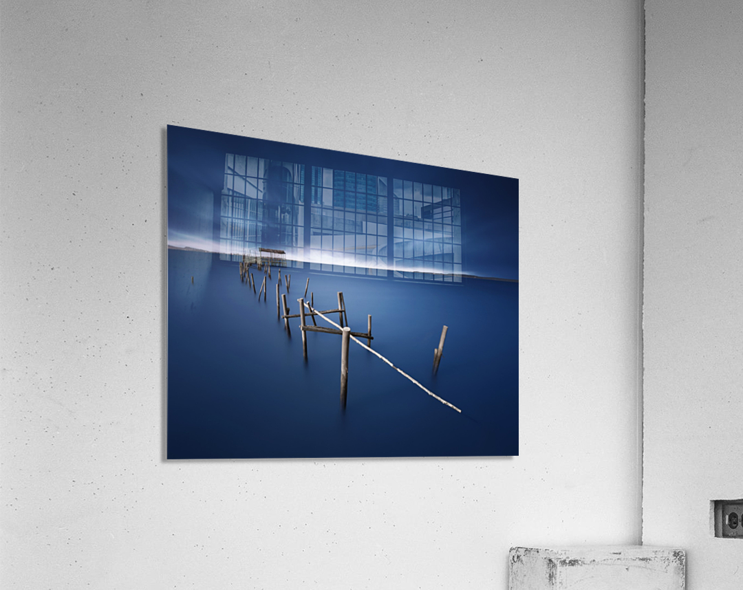 Carrasqueira azul  Acrylic Print