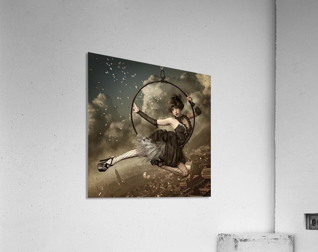 the greatest show in the sky  Acrylic Print