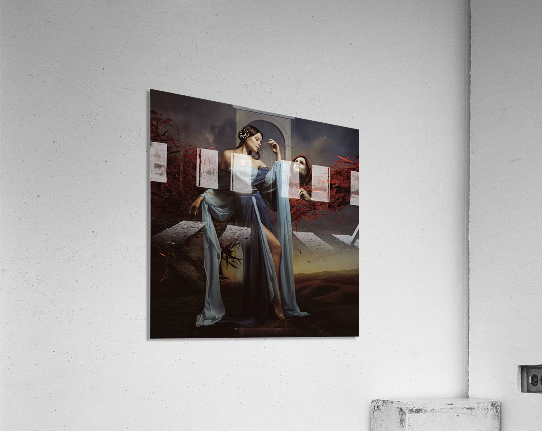 Luiza and Time  Acrylic Print