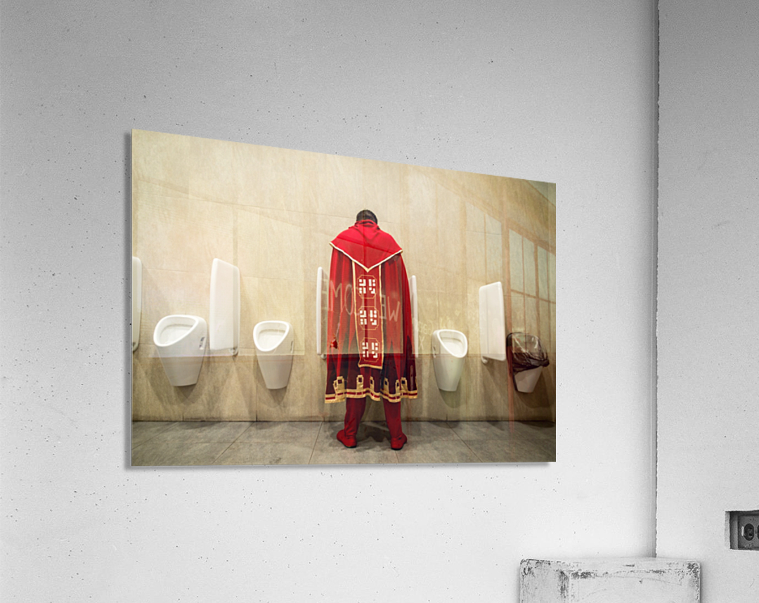 It's Good To Be King!  Acrylic Print
