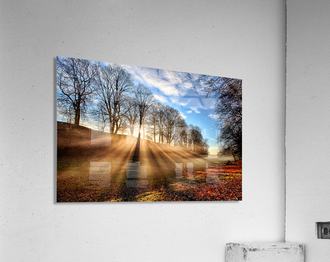 Mill of Shadows  Acrylic Print