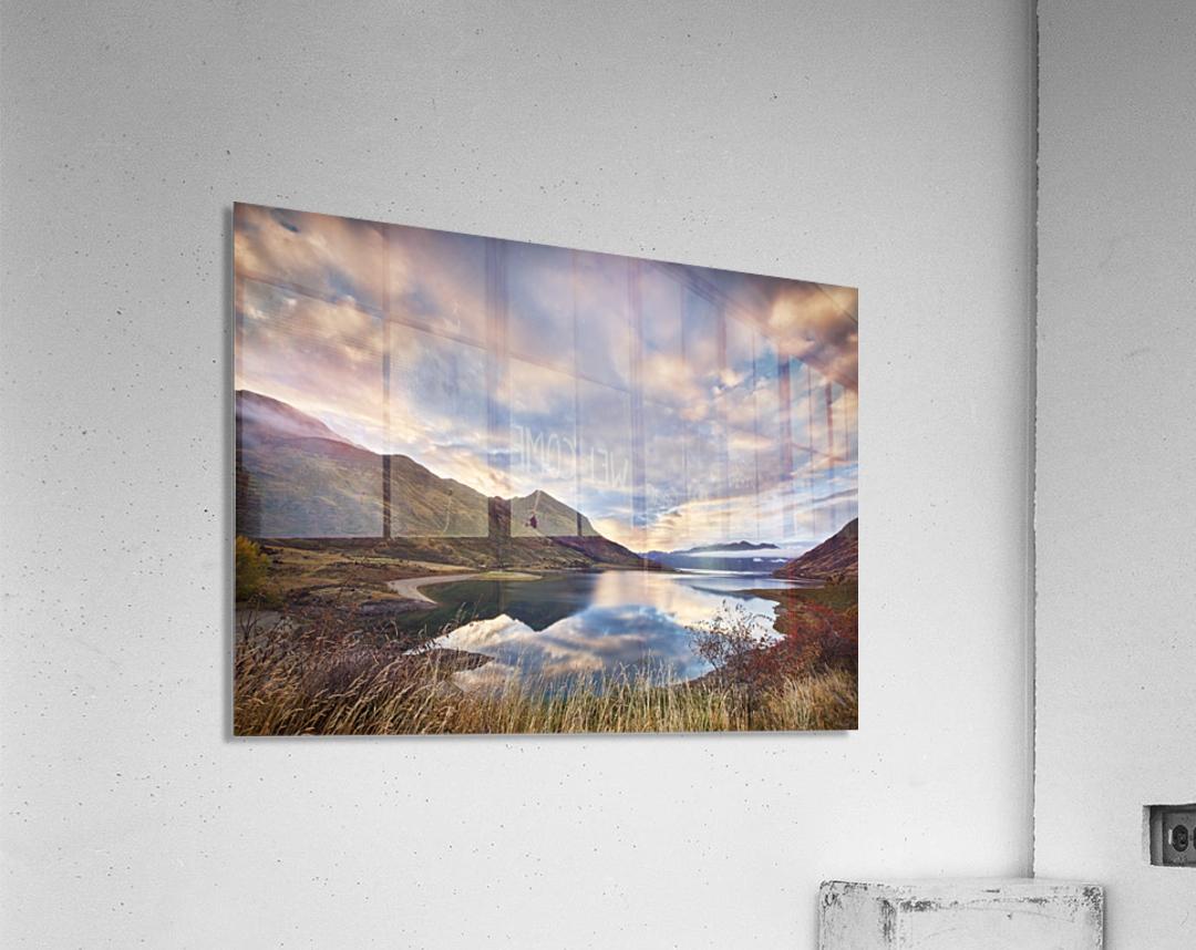 Morning Delight at Lake Hawea  Acrylic Print