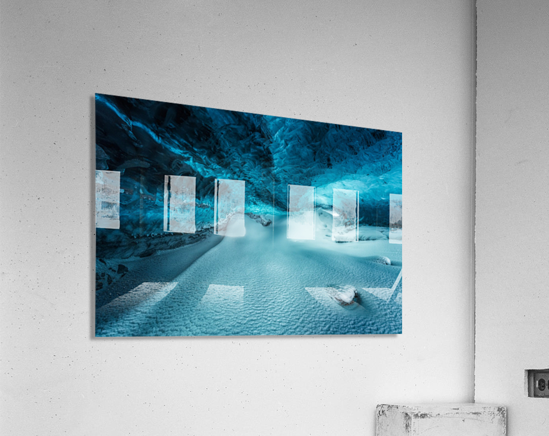 Hidden Frozen World  Acrylic Print