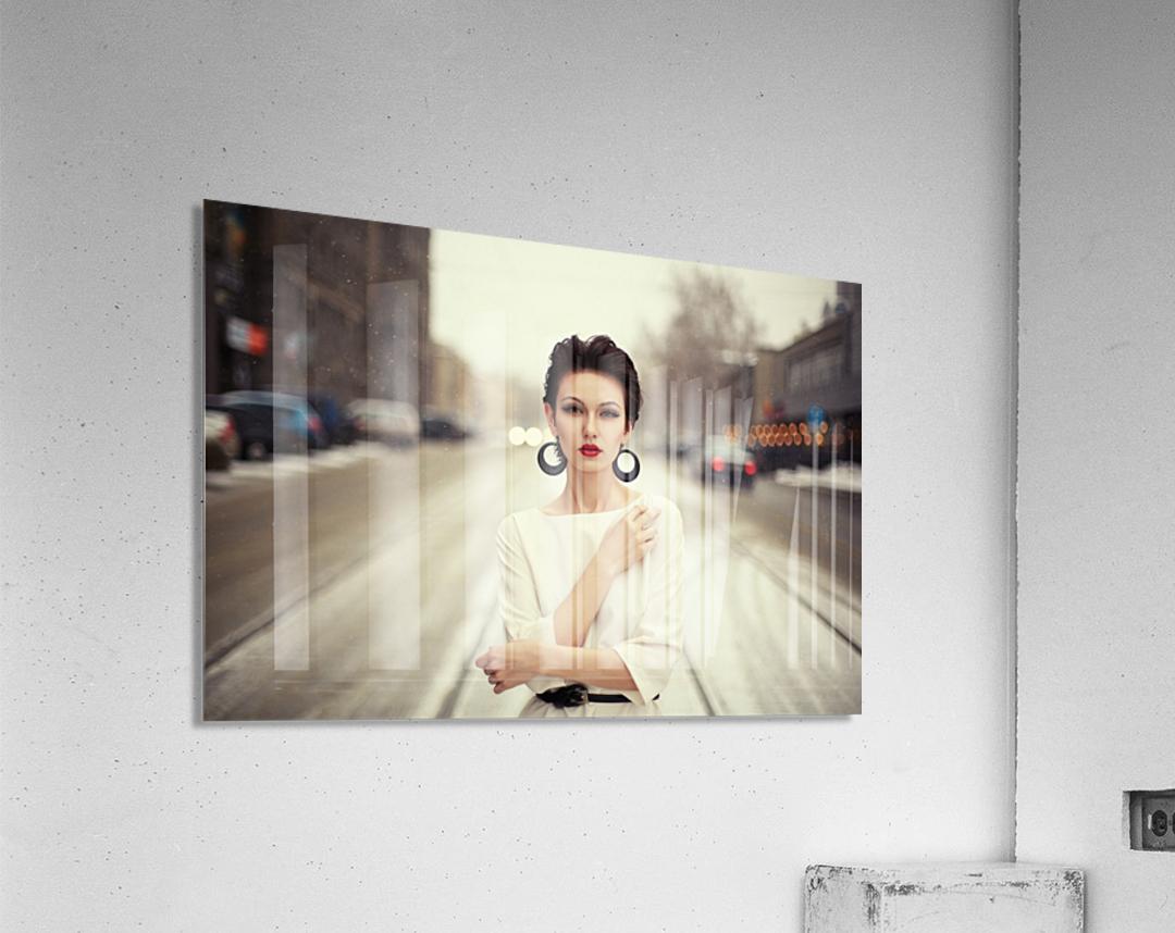 Nastya  Acrylic Print