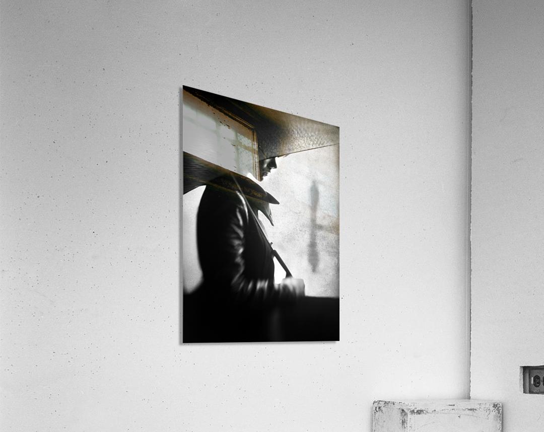rain please tell him...  Acrylic Print