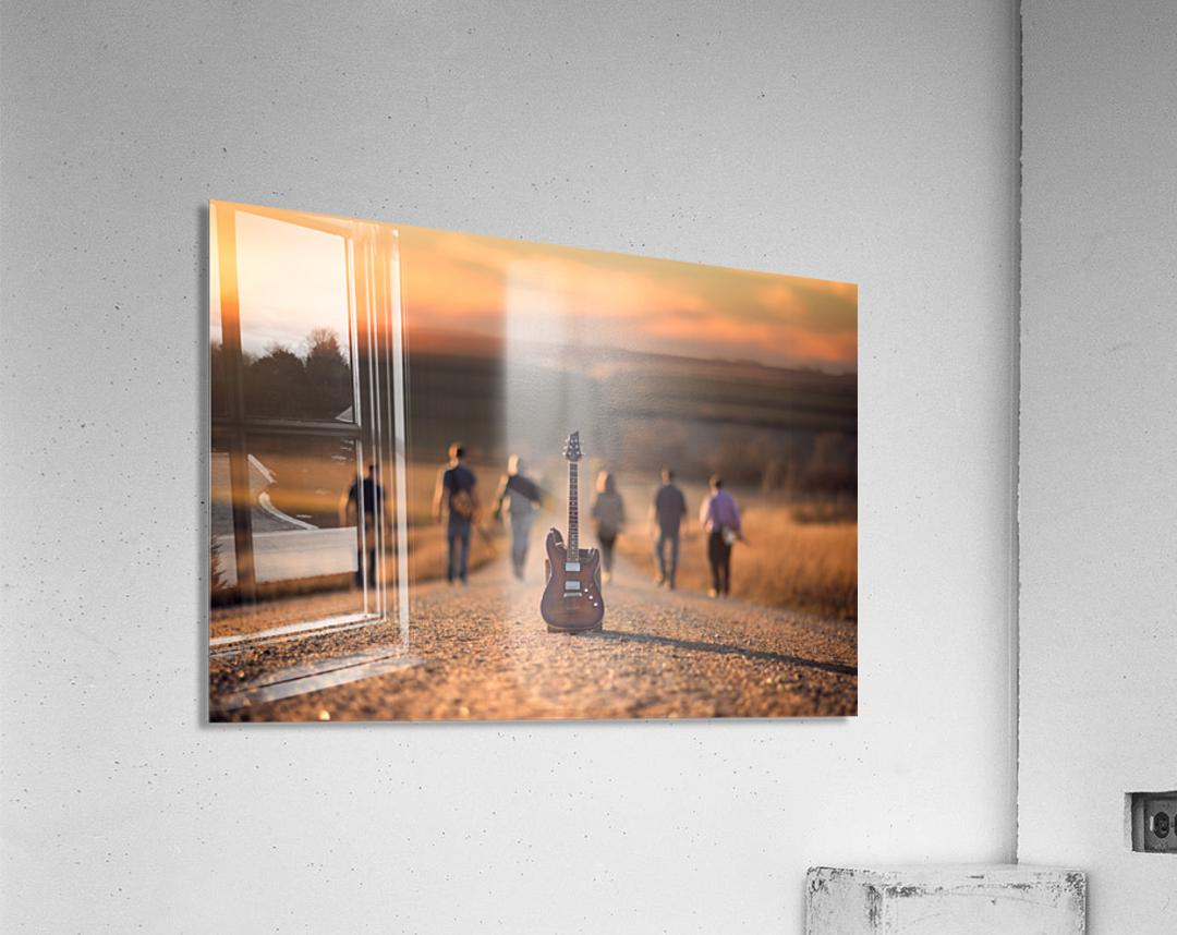 Velvet Crush  Acrylic Print