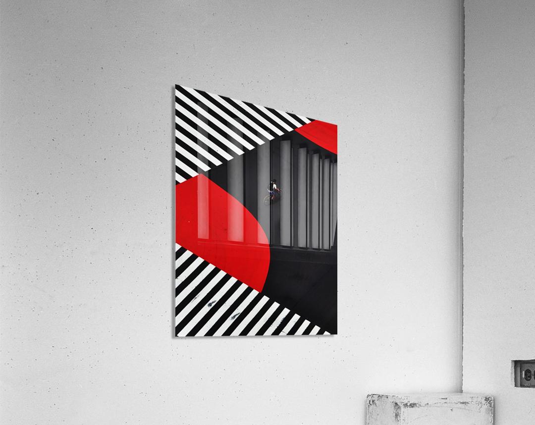 Along a road  Acrylic Print
