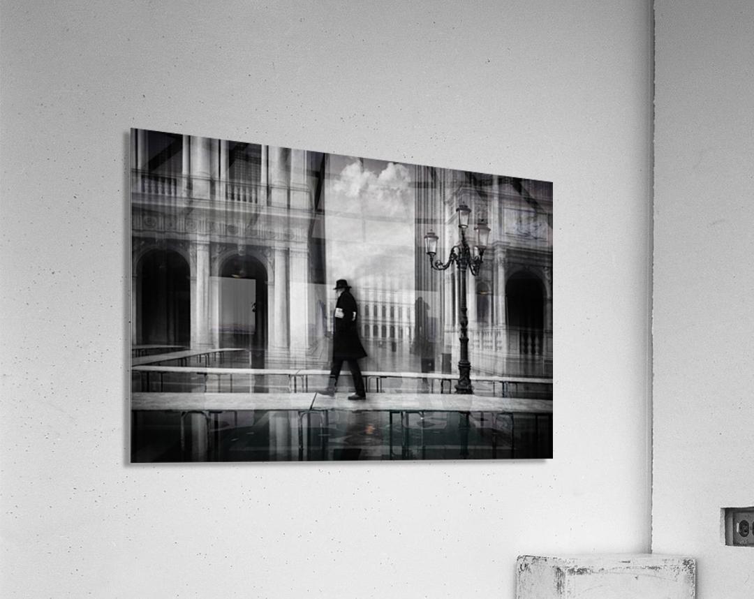dry footed walk  Acrylic Print