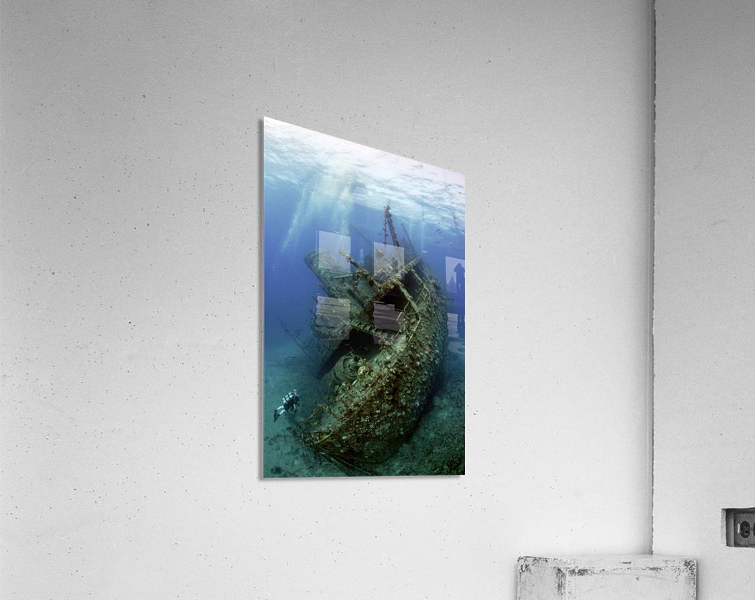 Giannis D wreck.  Acrylic Print