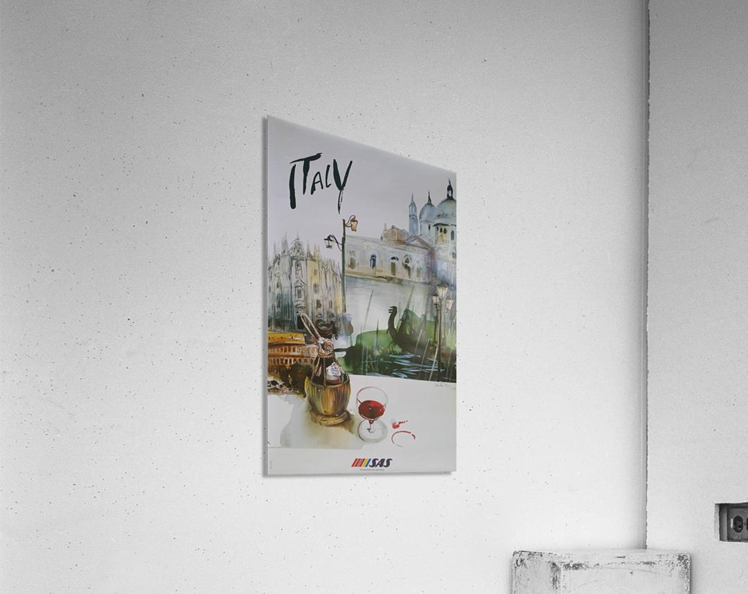 Italy Travel Poster by SAS  Acrylic Print