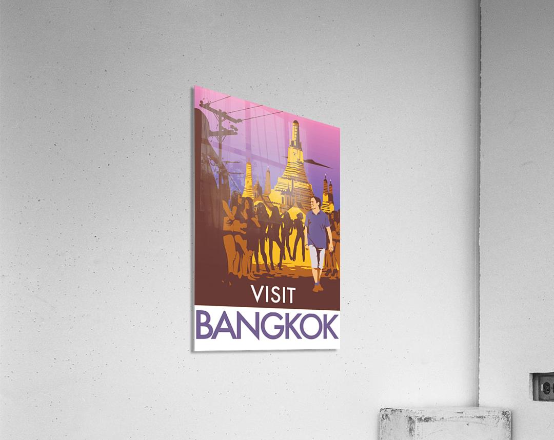 Visit Bangkok  Acrylic Print