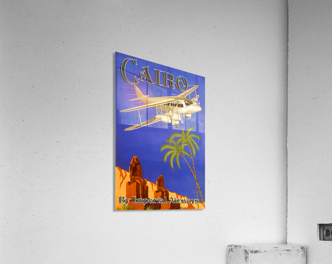 Cairo By Imperial Airways  Acrylic Print