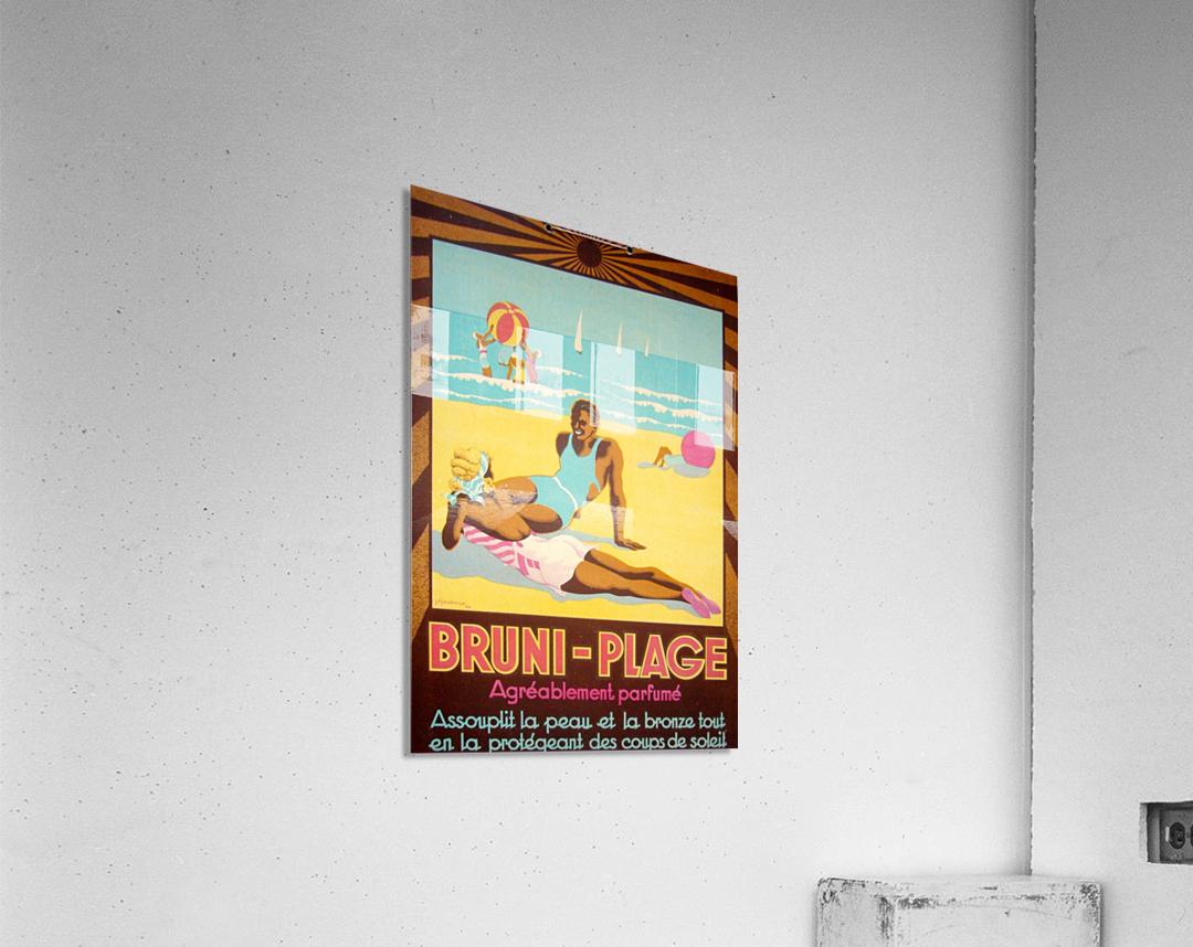 Bruni Plage  Acrylic Print
