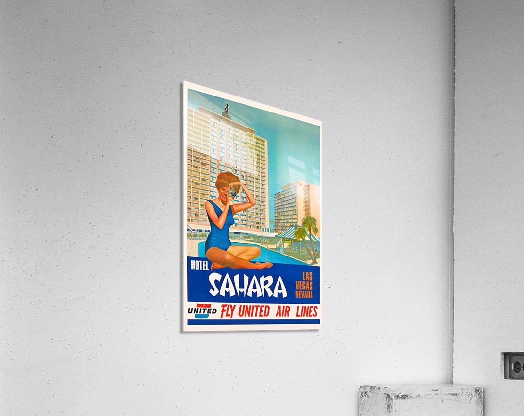 Hotel Sahara Las Vegas Nevada  Acrylic Print