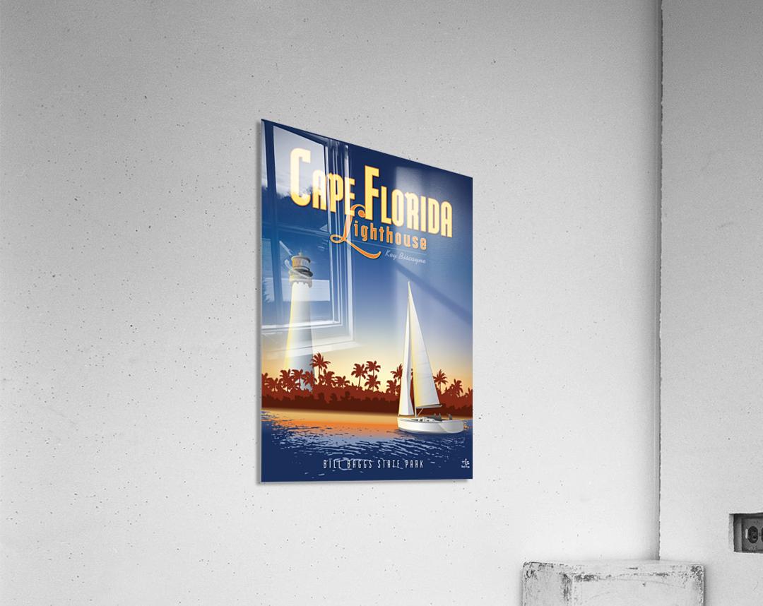 Cape Florida Lighthouse  Acrylic Print