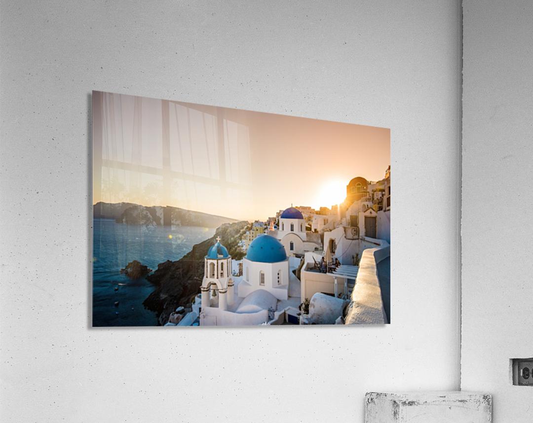 Coastal Oia  Acrylic Print