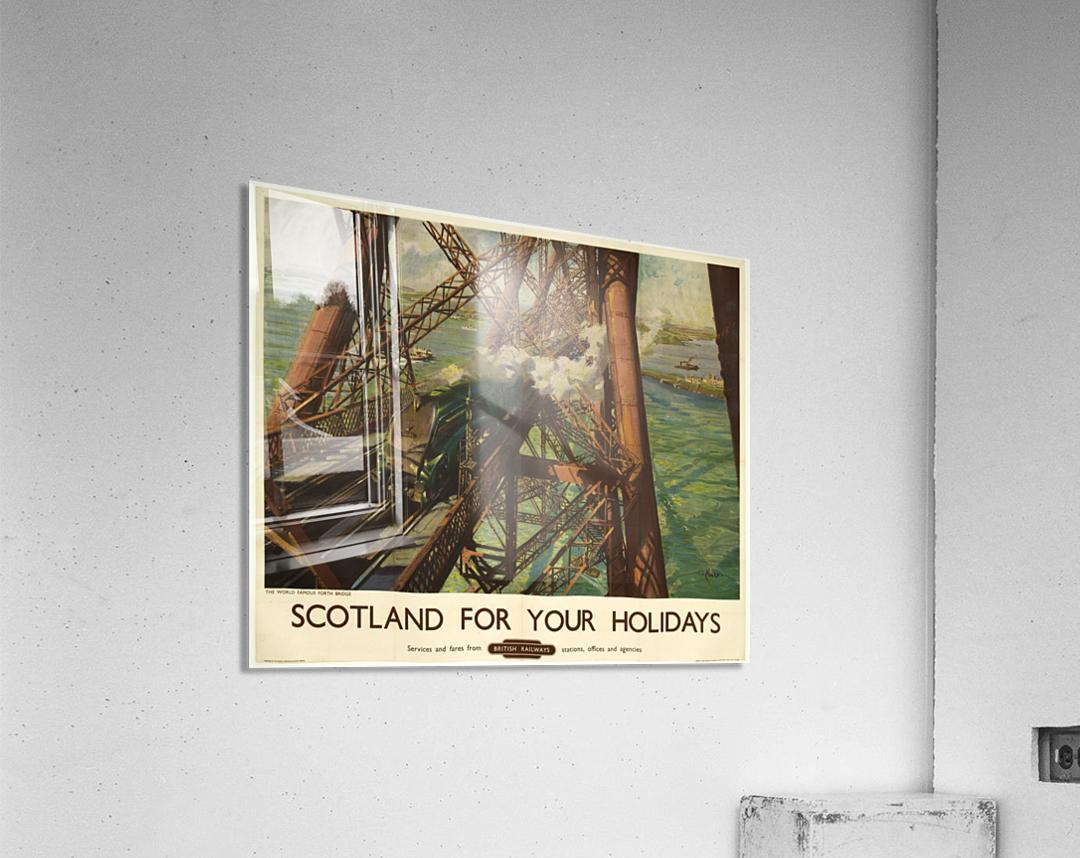 Scotland for your holidays  Acrylic Print