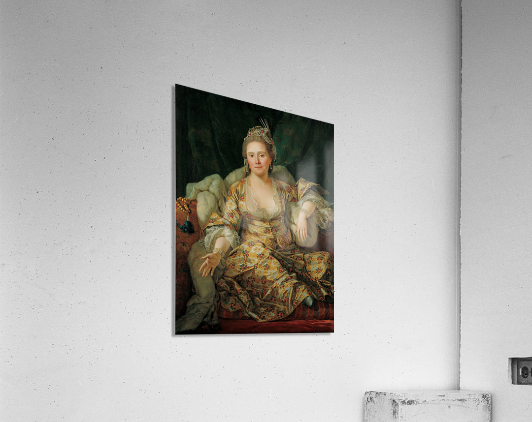 Portrait of the Countess of Vergenne  Acrylic Print