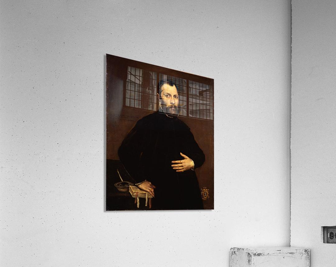Portrait of a gentleman  Impression acrylique