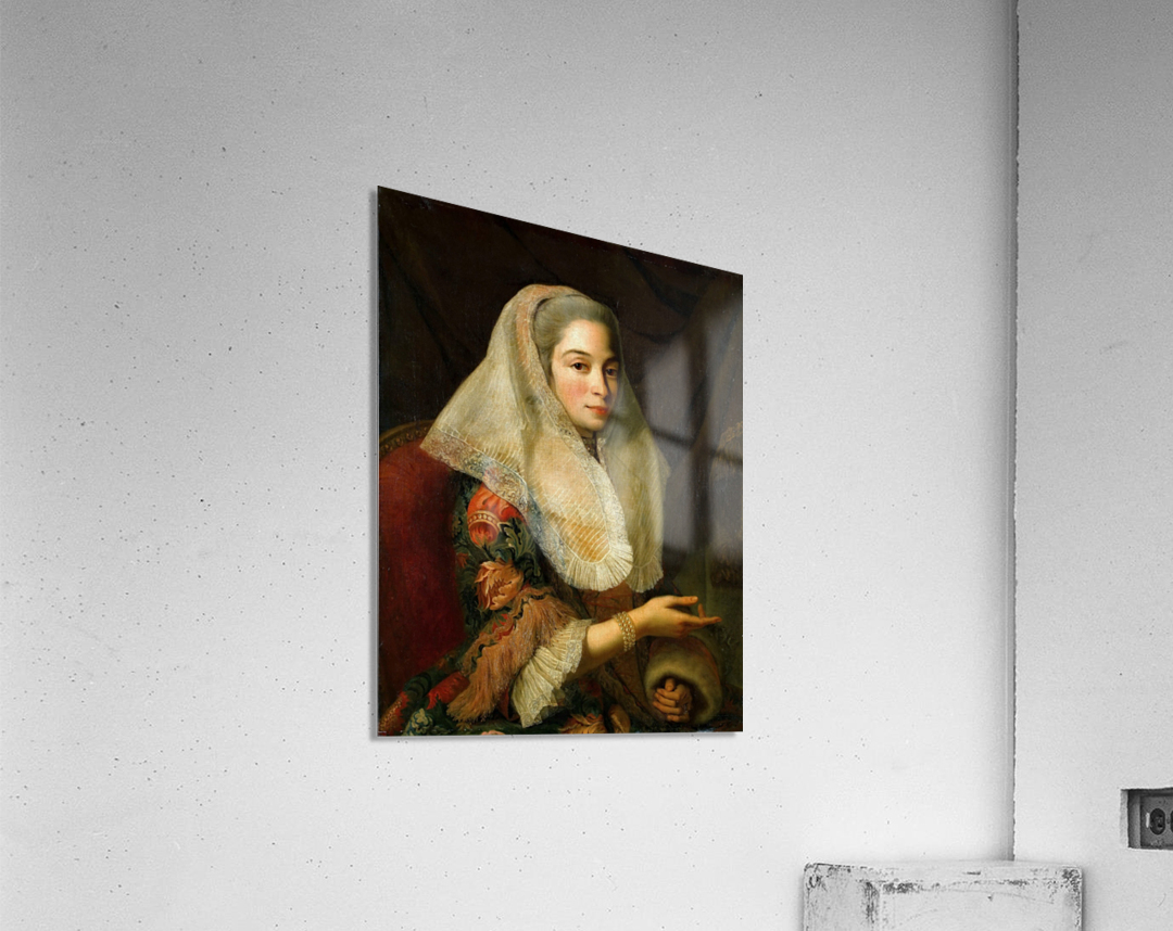 Portrait of a young Maltese woman  Acrylic Print
