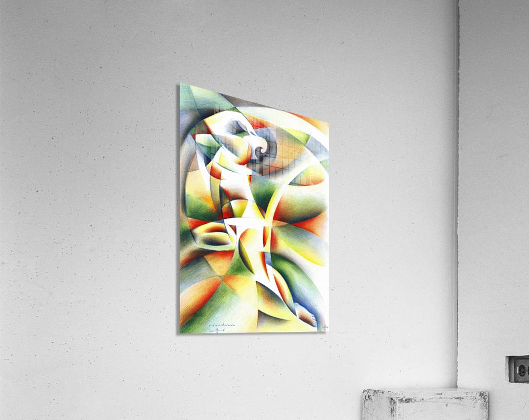 Roundism - 12-10-16  Acrylic Print