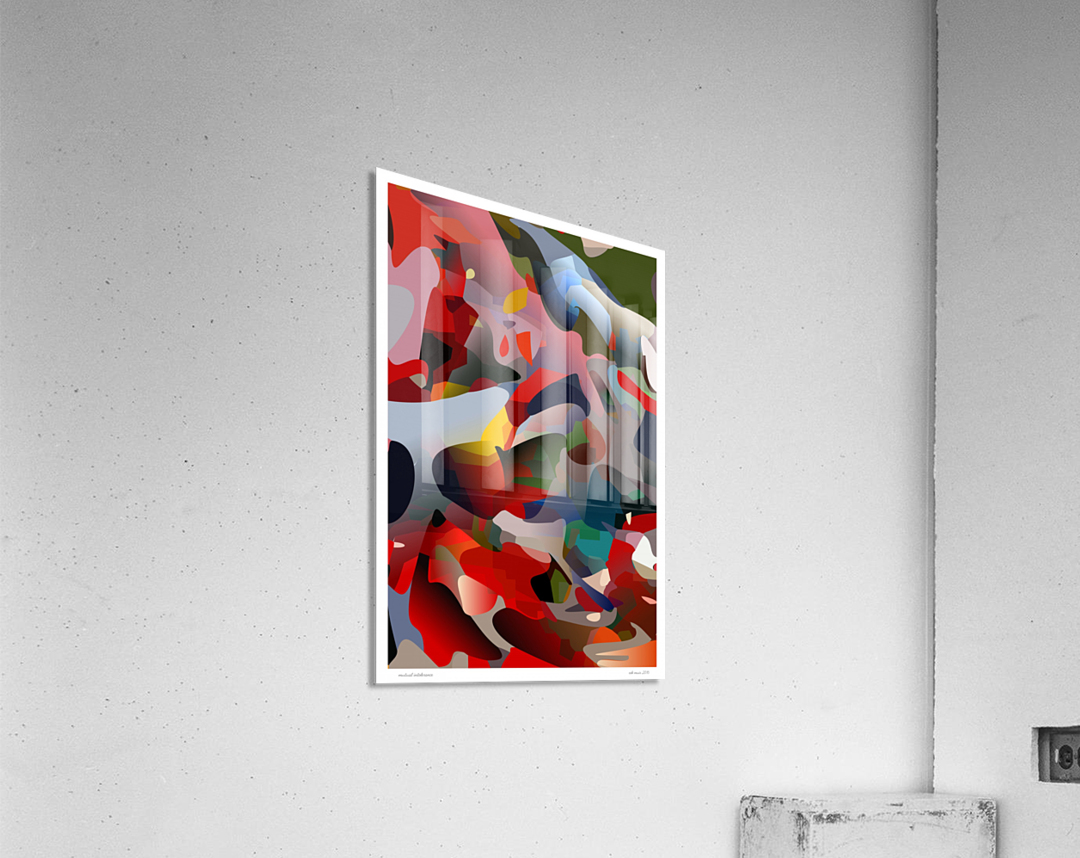 mutual intolerance  Acrylic Print