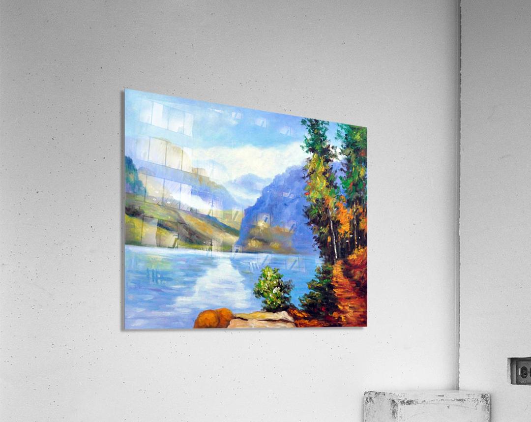 Lake Louise, British Columbia  Acrylic Print