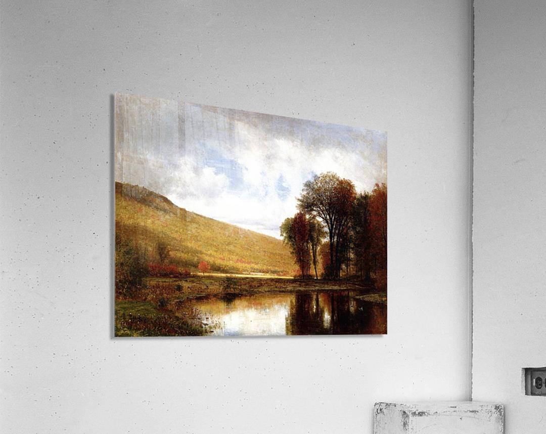 Autumn on the Deleware  Acrylic Print