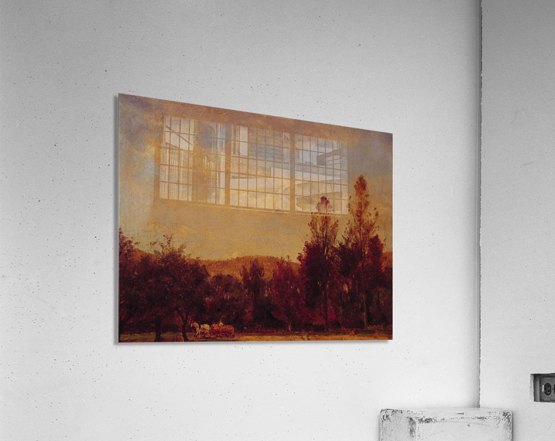 Gathering the Buckwheat  Acrylic Print