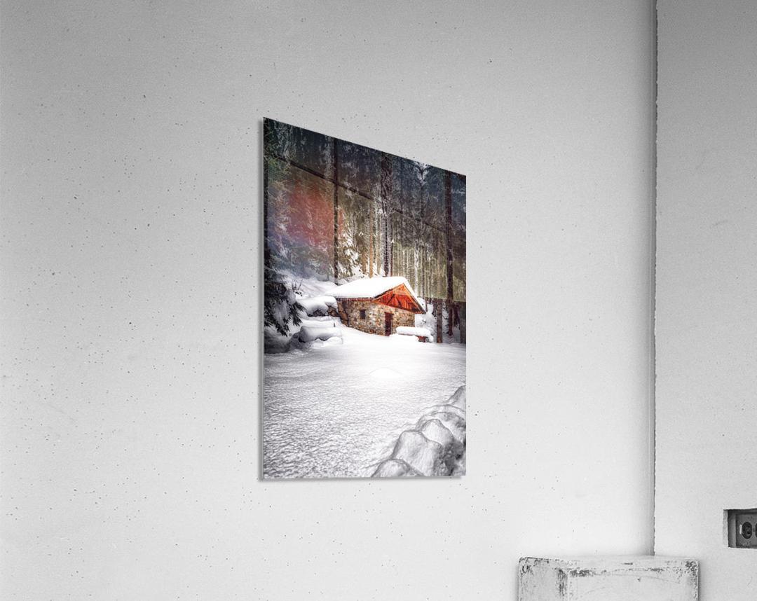 The Alps  Acrylic Print