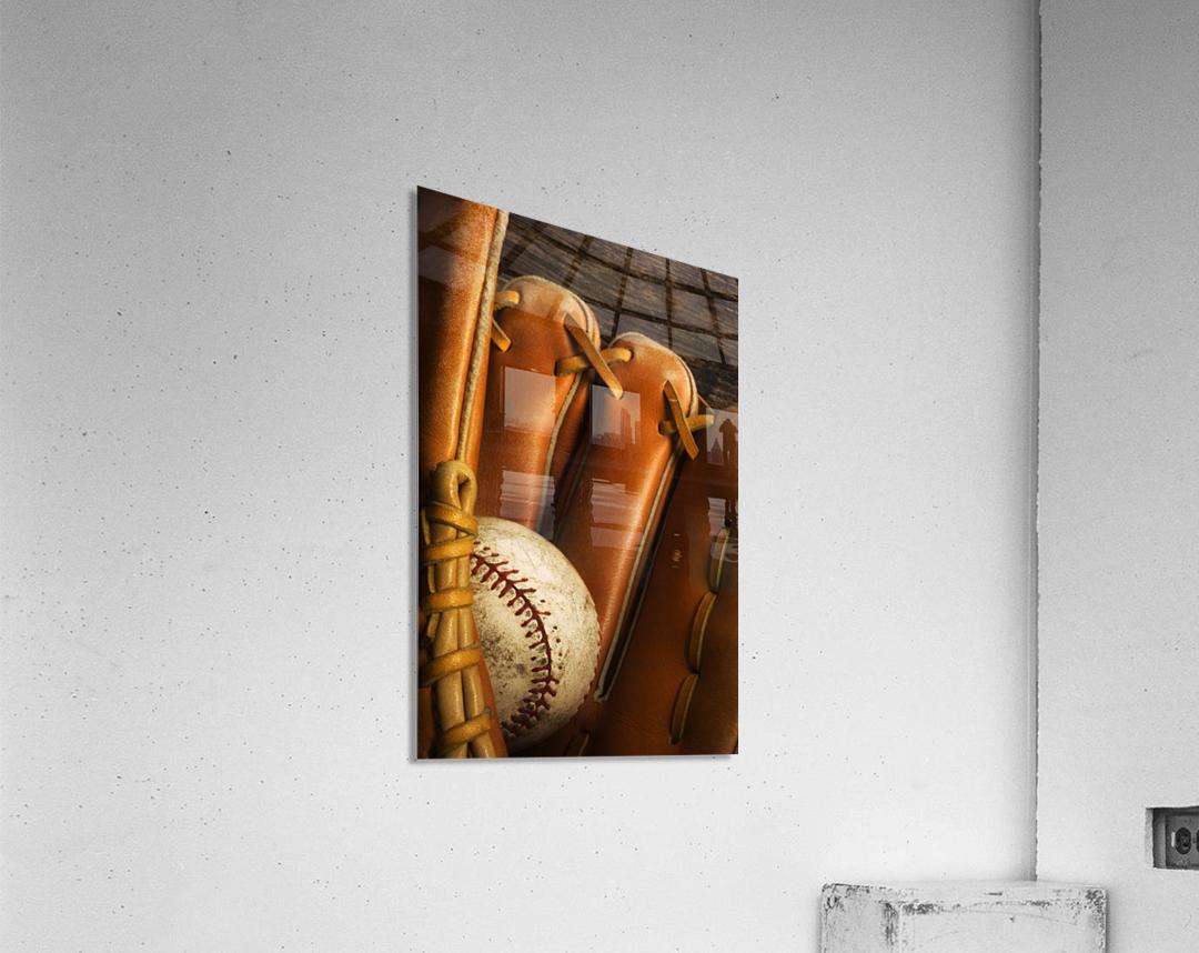 Baseball Glove And Baseball  Acrylic Print