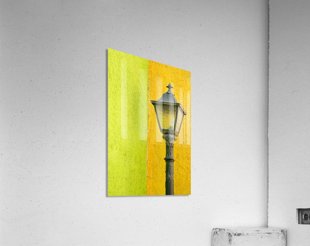 La Crucecita City, Bahias De Huatulco, Oaxaca State, Pacific Coast, Mexico; Lamp In  Acrylic Print