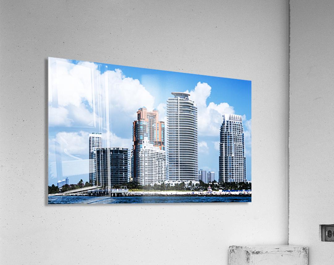 SOFI South of Fifth Miami  Acrylic Print