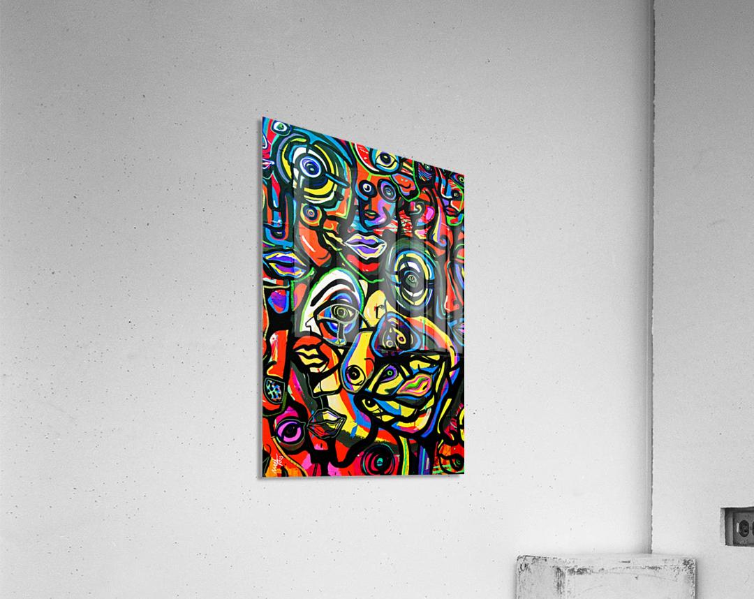Becoming  Acrylic Print