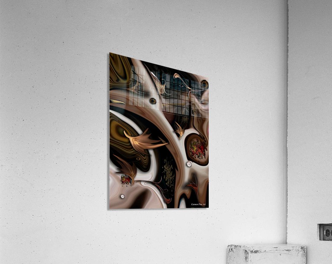 Juxtaposed Nature Part I  Acrylic Print