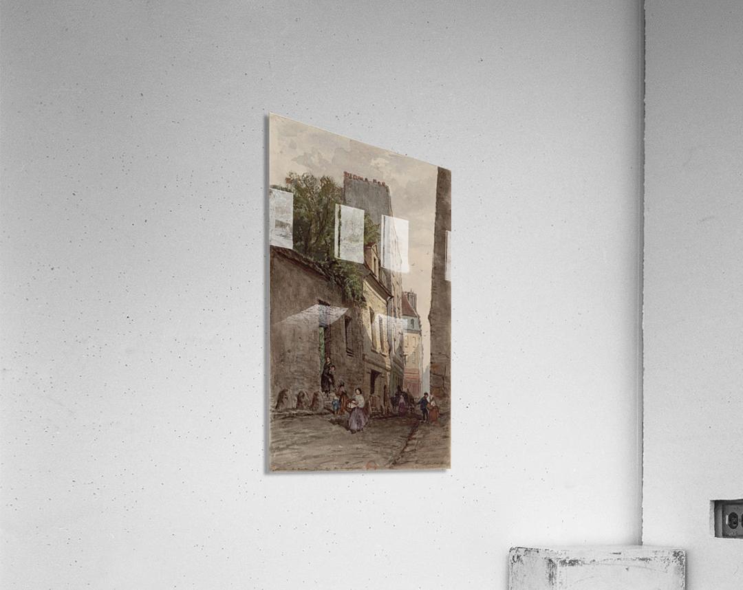 Maison du diacre Francois de Paris rue des Bourguignons  Acrylic Print