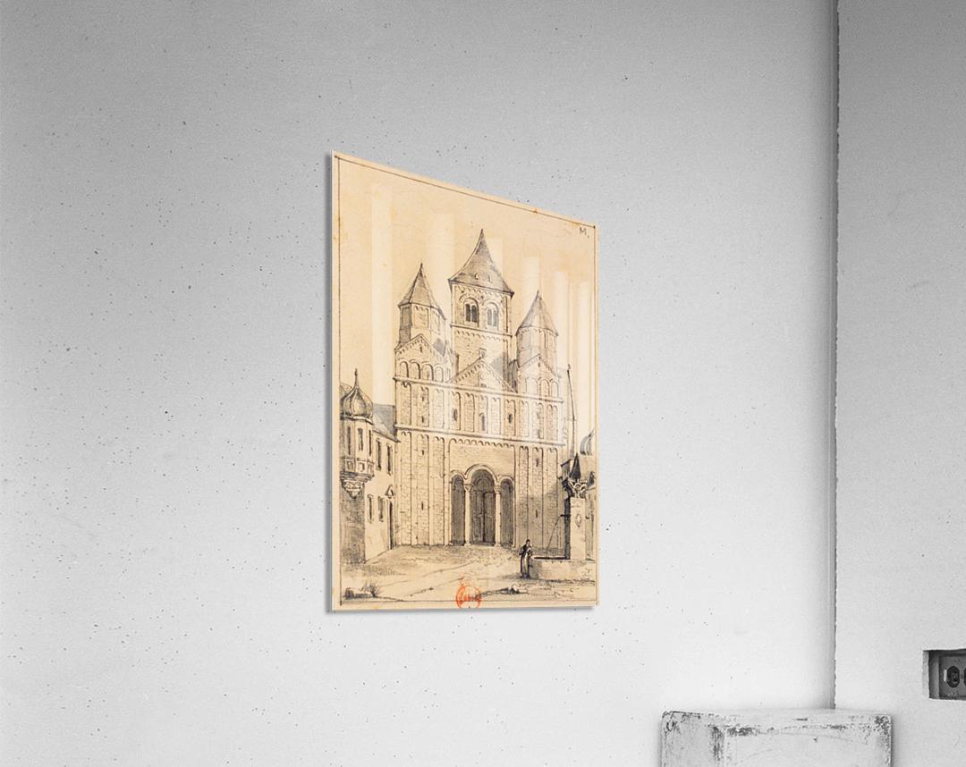Eglise de Marrmoutier  Acrylic Print