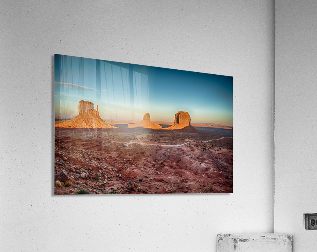 Monument Valley HDR (16 of 21)  Acrylic Print