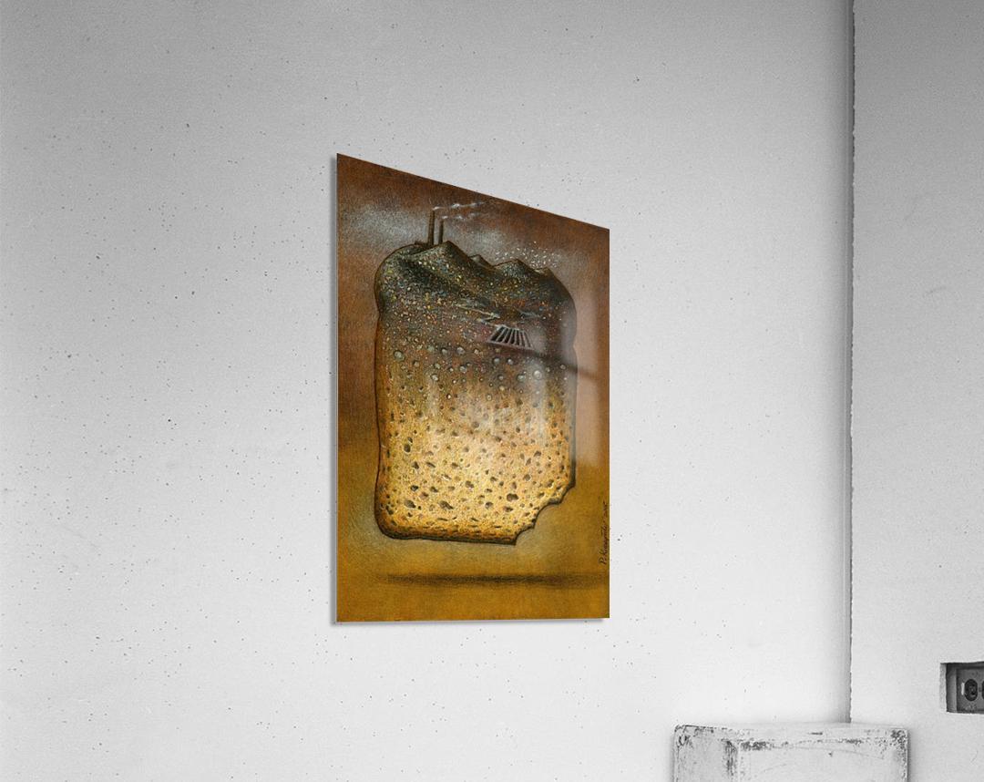 soil pollution  Acrylic Print