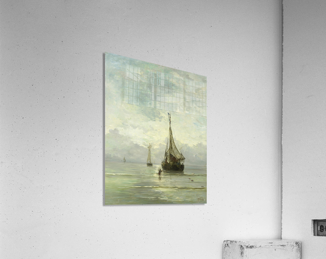 Kalme zee  Acrylic Print