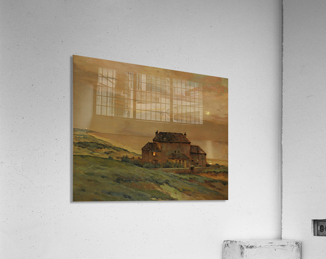 A castle  Acrylic Print
