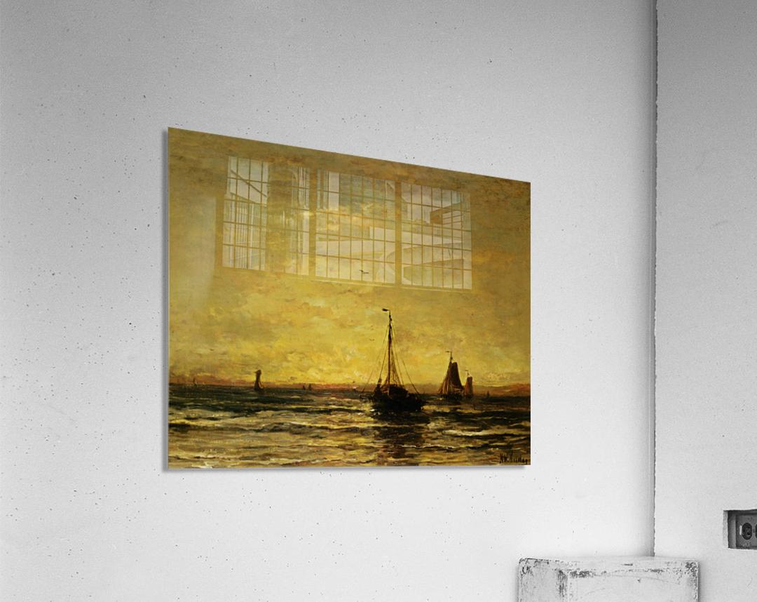 The Return of the Fleet at Sunset  Acrylic Print