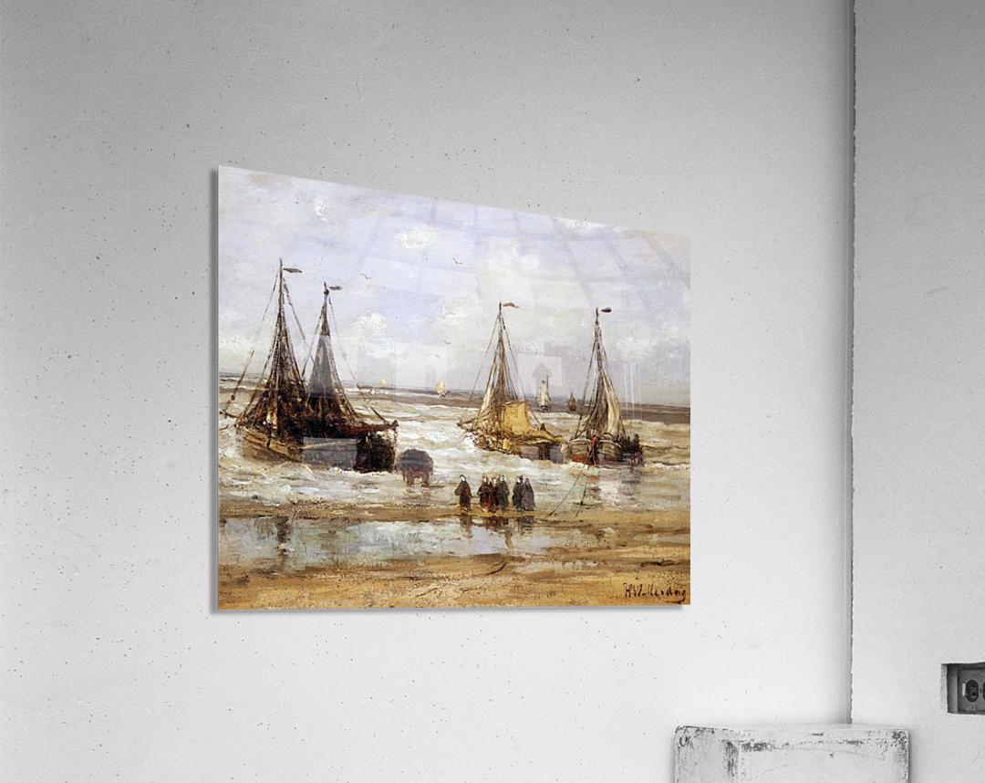 Arrival Of The Fleet Sun  Acrylic Print