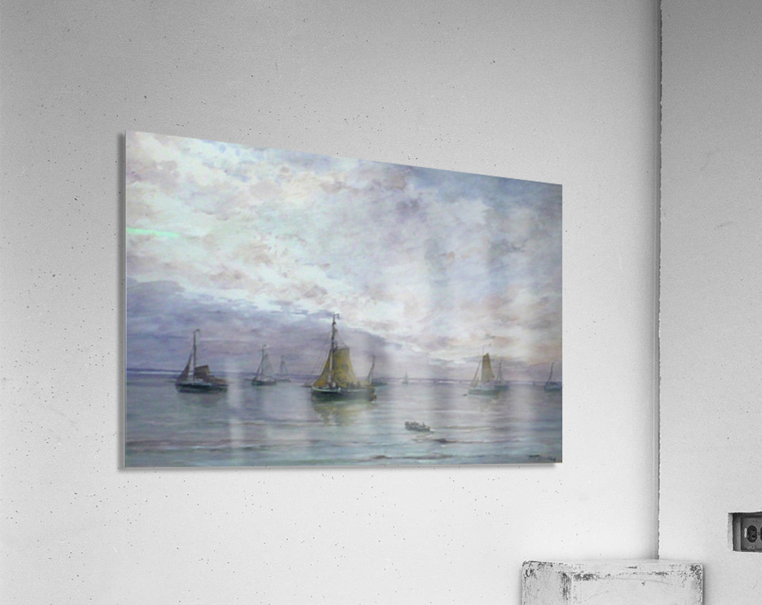 Ships on anchor  Acrylic Print