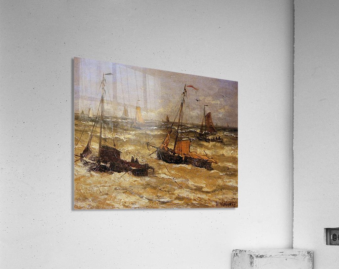 Ships For Anchor Sun  Acrylic Print